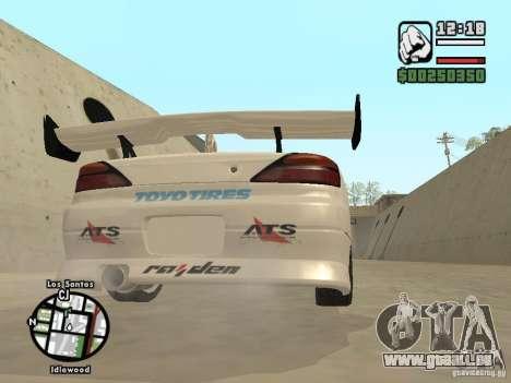 Nissan Silvia S15 Drift pour GTA San Andreas vue de droite