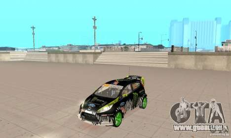 Ford Fiesta 2011 Ken Blocks für GTA San Andreas