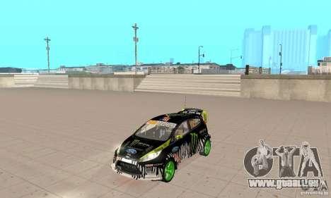 Ford Fiesta 2011 Ken Blocks für GTA San Andreas