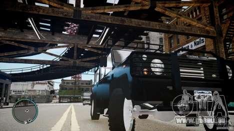 Land Rover Defender für GTA 4 Seitenansicht