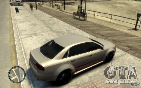 Audi RS4 pour GTA 4 est un droit