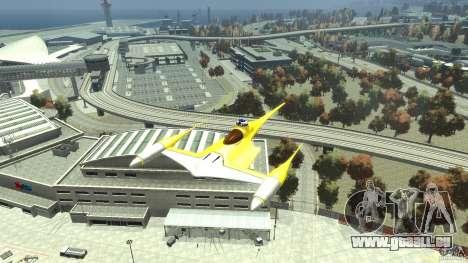 Naboofighter für GTA 4 rechte Ansicht