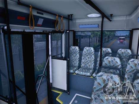 Ikarus 415 pour GTA San Andreas vue intérieure