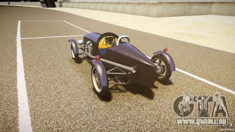 Vintage race car pour GTA 4 Vue arrière de la gauche