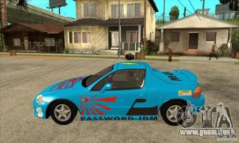 Honda CRX - DelSol für GTA San Andreas linke Ansicht