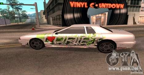 Paintjob for Elegy pour GTA San Andreas vue de droite
