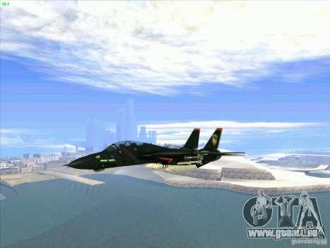 F-14 Tomcat Razgriz pour GTA San Andreas vue intérieure