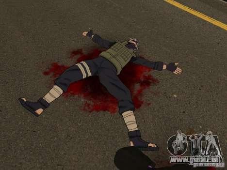 Hatake Kakashi From Naruto für GTA San Andreas zweiten Screenshot
