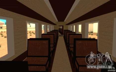 Locomotive pour GTA San Andreas vue arrière