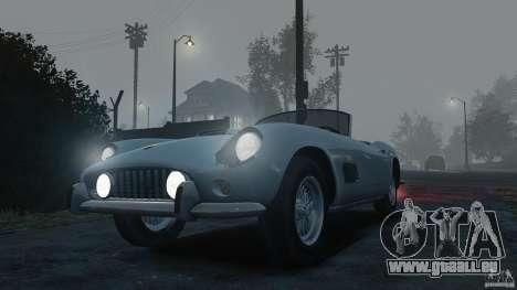 Ferrari 250 California 1957 pour GTA 4 est un droit