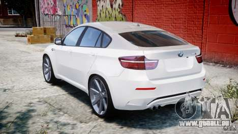 BMW X6M v1.0 für GTA 4 hinten links Ansicht