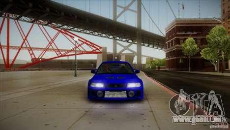 Mitsubishi Lancer Evolution lX pour GTA San Andreas vue intérieure