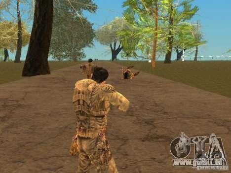 Degtyarev de Stalker pour GTA San Andreas sixième écran