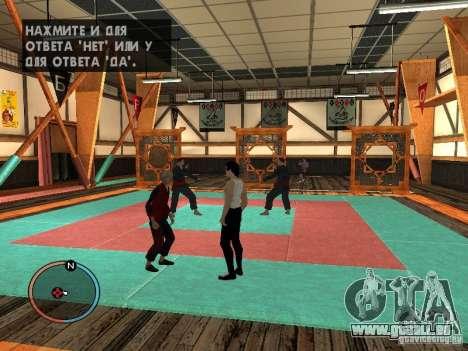 Bruce Lee-Haut für GTA San Andreas her Screenshot