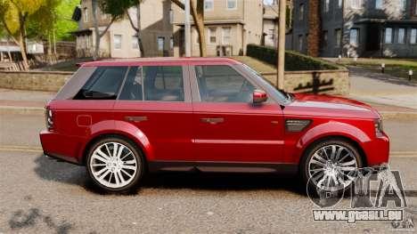 Land Rover Range Rover Sport HSE 2010 für GTA 4 linke Ansicht