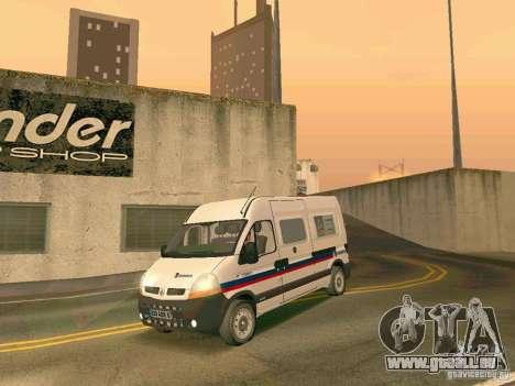 Renault Master pour GTA San Andreas vue arrière