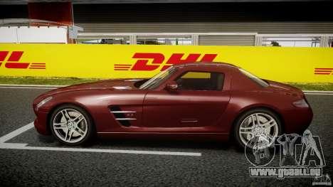 Mercedes-Benz SLS AMG 2010 [EPM] pour GTA 4 Vue arrière de la gauche