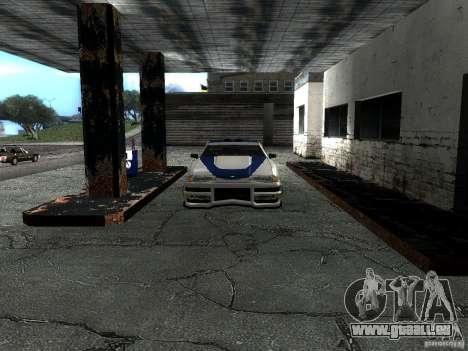 Vinyle avec la BMW M3 GTR dans Most Wanted pour GTA San Andreas vue intérieure