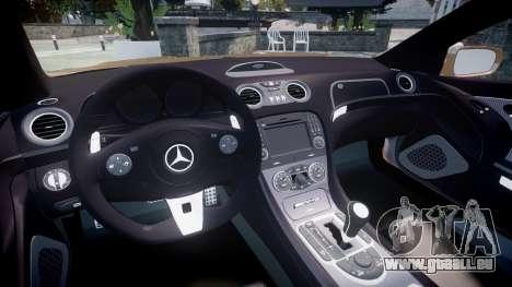 Mercedes-Benz SL65 AMG Black Series für GTA 4 Rückansicht