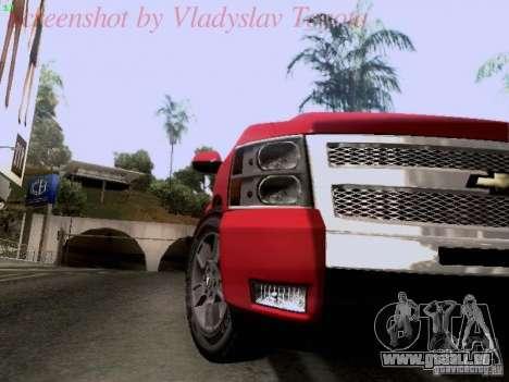 Chevrolet Cheyenne Single Cab für GTA San Andreas Rückansicht