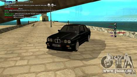 BMW M3 E30 1989 für GTA San Andreas