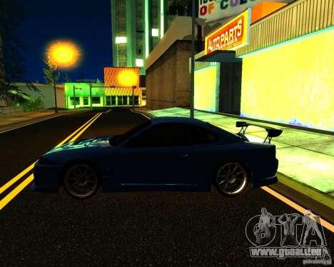Nissan Silvia C-West pour GTA San Andreas vue de dessus
