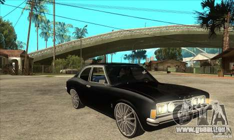 Ford Taunus Coupe pour GTA San Andreas vue arrière