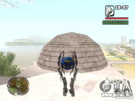 Robot de Portal 2 # 3 pour GTA San Andreas