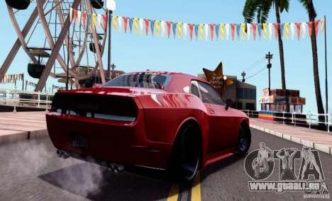 Dodge Challenger Rampage Customs pour GTA San Andreas laissé vue