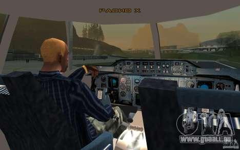Airbus A310 S7 Airlines für GTA San Andreas rechten Ansicht