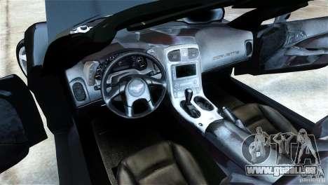 Chevrolet Corvette C6 Convertible v1.0 für GTA 4 rechte Ansicht