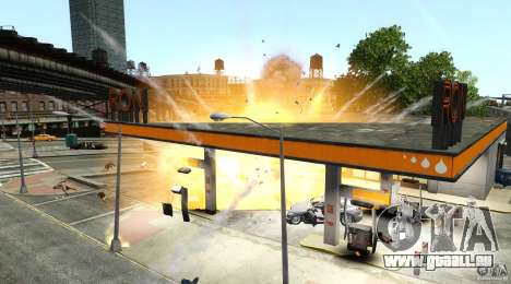 Explosion & Fire Tweak 1.0 für GTA 4