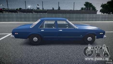 Dodge Aspen v1.1 1979 pour GTA 4 est une vue de l'intérieur