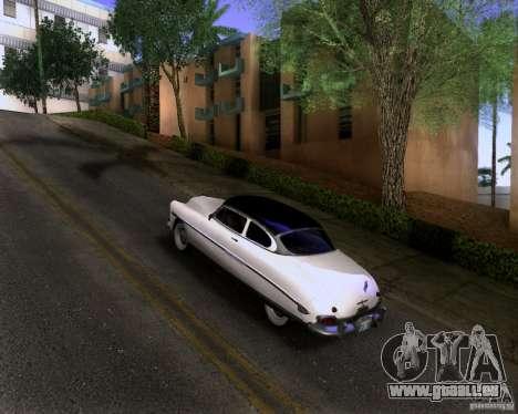 Hudson Hornet 1952 pour GTA San Andreas laissé vue