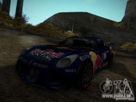 Pontiac Solstice Redbull Drift v2 pour GTA San Andreas