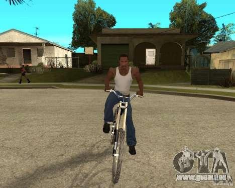 Diamondback strike Beta für GTA San Andreas Rückansicht