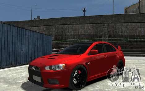 Mitsubishi Lancer Evo X v.1.0 pour GTA 4