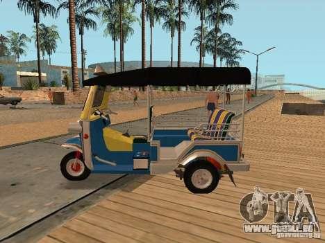 Tuk Tuk Thailand pour GTA San Andreas vue de droite