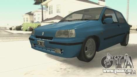 Renault Clio RL 1996 pour GTA San Andreas laissé vue