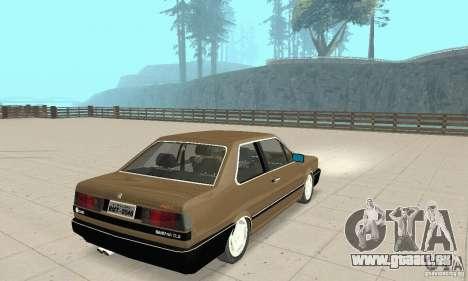 Volkswagen Santana GLS 1989 für GTA San Andreas zurück linke Ansicht