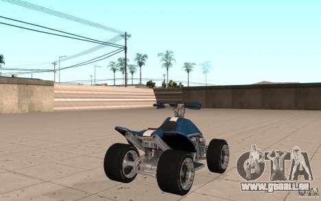 Peau Powerquad_by-Woofi-MF 1 pour GTA San Andreas sur la vue arrière gauche