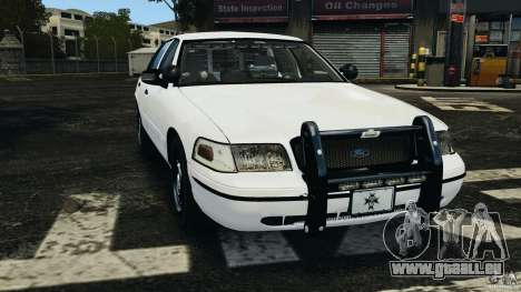 Ford Crown Victoria Police Unit [ELS] pour GTA 4