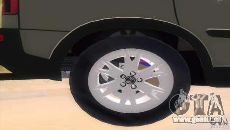 Volvo XC90 pour une vue GTA Vice City de la droite