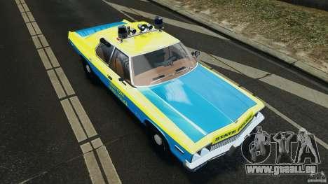 Dodge Monaco 1974 Police v1.0 [ELS] für GTA 4 Innen