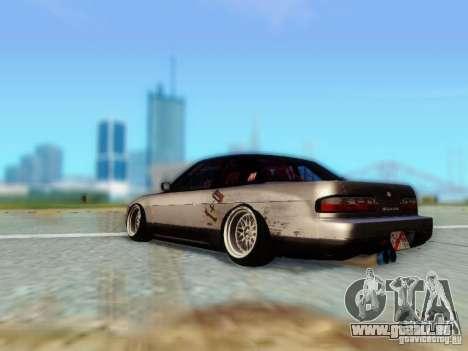 Nissan S13 - Touge pour GTA San Andreas laissé vue