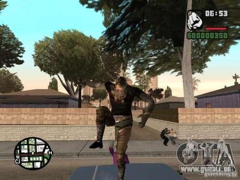 Zombe from Gothic pour GTA San Andreas quatrième écran