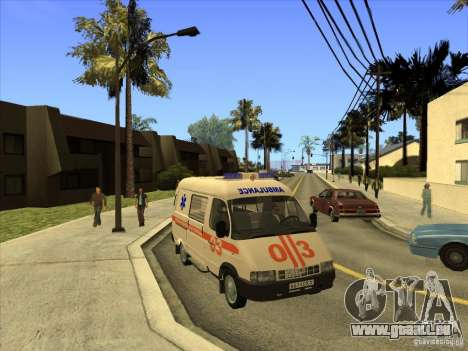 GAZ 22172 ambulance pour GTA San Andreas