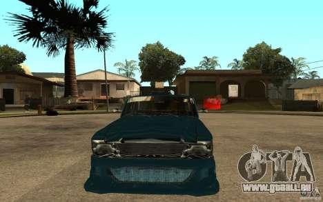 AZLK 412 Tuning für GTA San Andreas rechten Ansicht