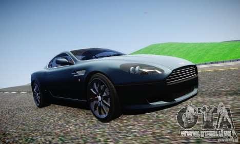 Aston Martin DB9 2005 V 1.5 pour GTA 4 vue de dessus