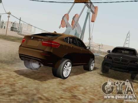 BMW X6M pour GTA San Andreas vue de droite